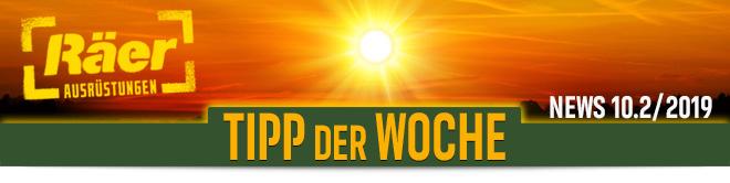 Räer Ausrüstungen GmbH Tipp der Woche Newsletter Oktober 2019, Nr. 2
