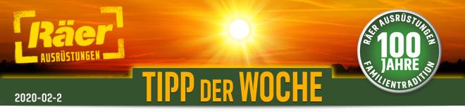 Räer Ausrüstungen GmbH, Tipp der Woche Newsletter Februar 2020, Nr. 2