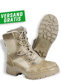 Bundeswehr Kampfstiefel Gore, Haix, sand