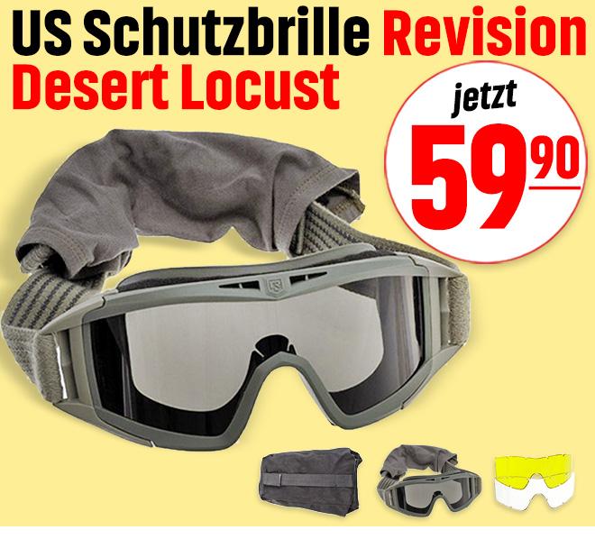 US Schutzbrille Revision Desert Locust