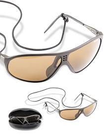 Schweizer Sonnenbrille SUVASOL mit Etui