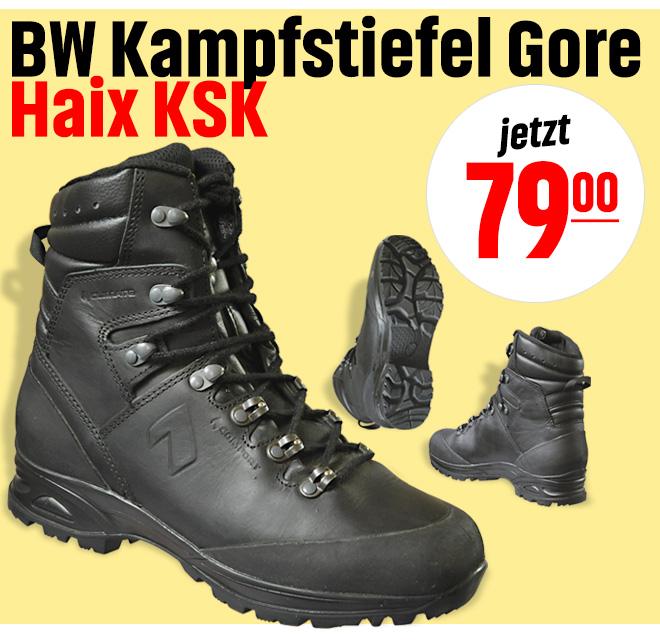 Bundeswehr Kampfstiefel Gore, Haix KSK