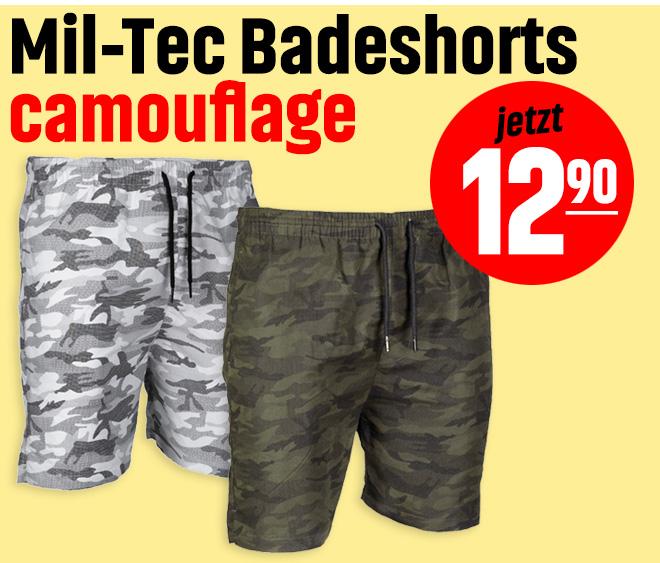 Mil-Tec Badeshorts camouflage