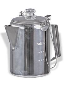 Edelstahl Kaffeekanne mit Edelstahl Percolator