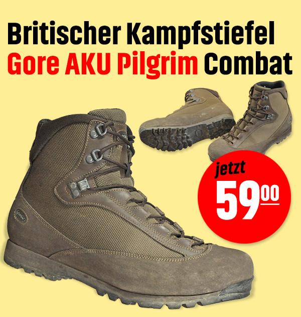 Britischer Kampfstiefel Gore AKU Pilgrim Combat