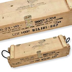 Dänische Holzkiste M2/M30, 82 x 29 x 18 cm