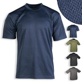 Tactical T-Shirt Quickdry, Ärmel-Patchfelder