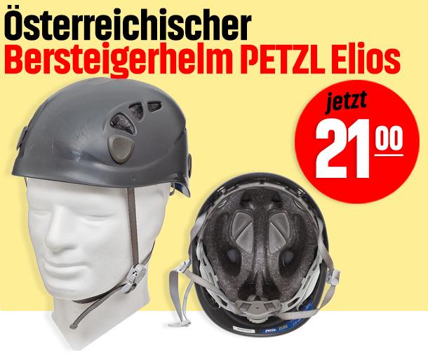 Österreichischer Bersteigerhelm PETZL Elios