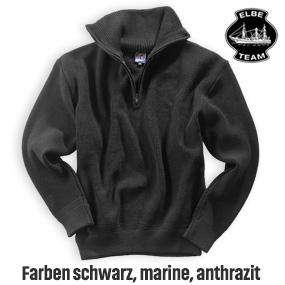 Elbe Seemannspullover Elbe S 1100, 100% Wolle